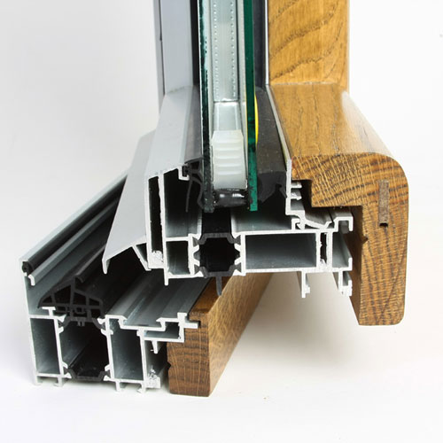 prozori i vrata drvo-aluminijum-beli-bor
